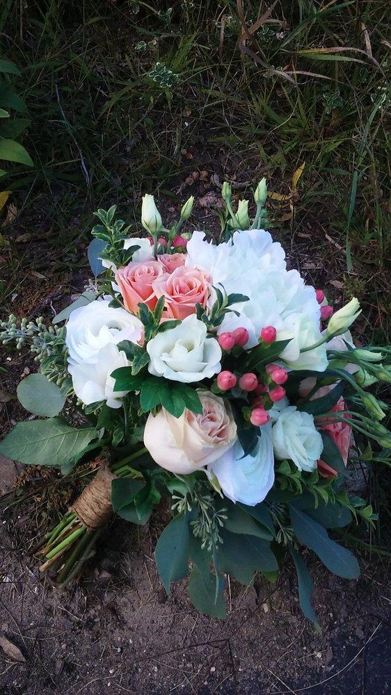 Flower Basket: 11 W Barnes Lake Rd, Columbiaville, MI