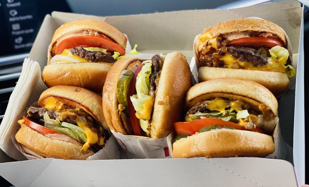 In-N-Out Burger: 1770 Beverly Ave, Kingman, AZ