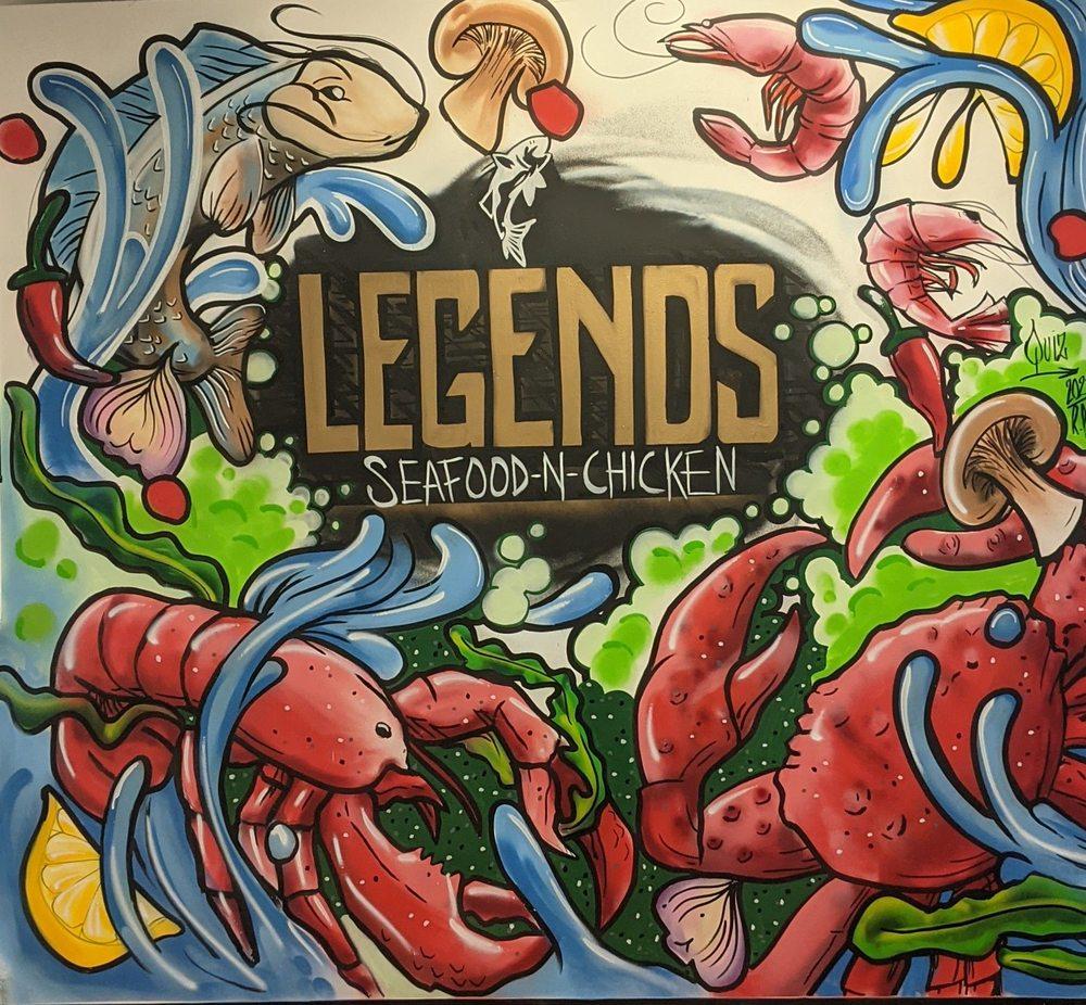 Legends Seafood N Chicken: 36091 Vine St, Eastlake, OH