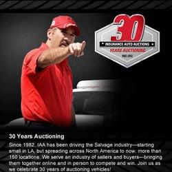 IAA Vehicle Purchasing - Auction Houses - 18300 S Vermont ...