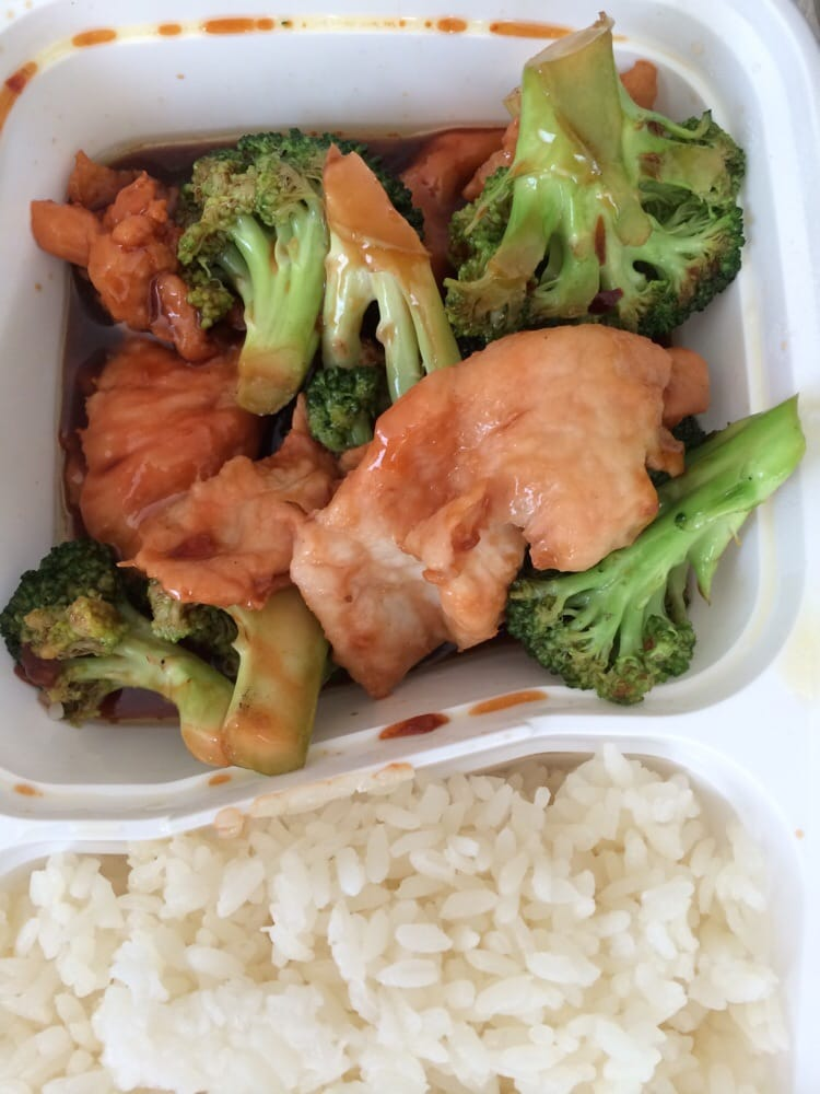 Spicy chicken with broccoli yelp for Aura thai fusion cuisine new york ny