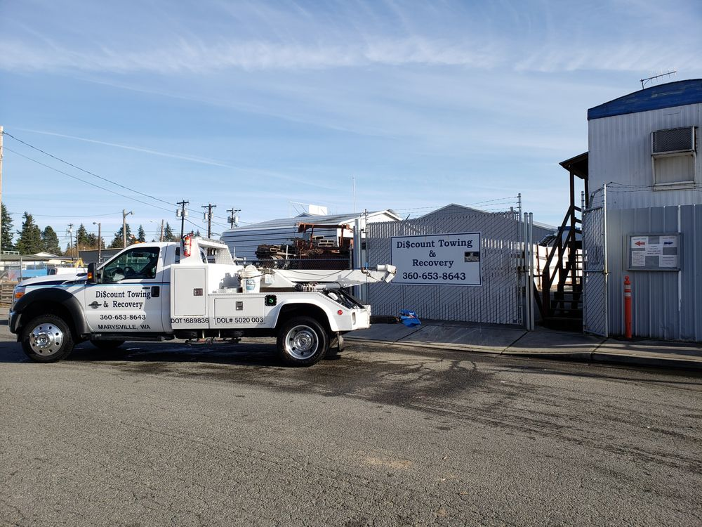 Discount Towing & Recovery: 5501-B 47th Ave NE, Marysville, WA