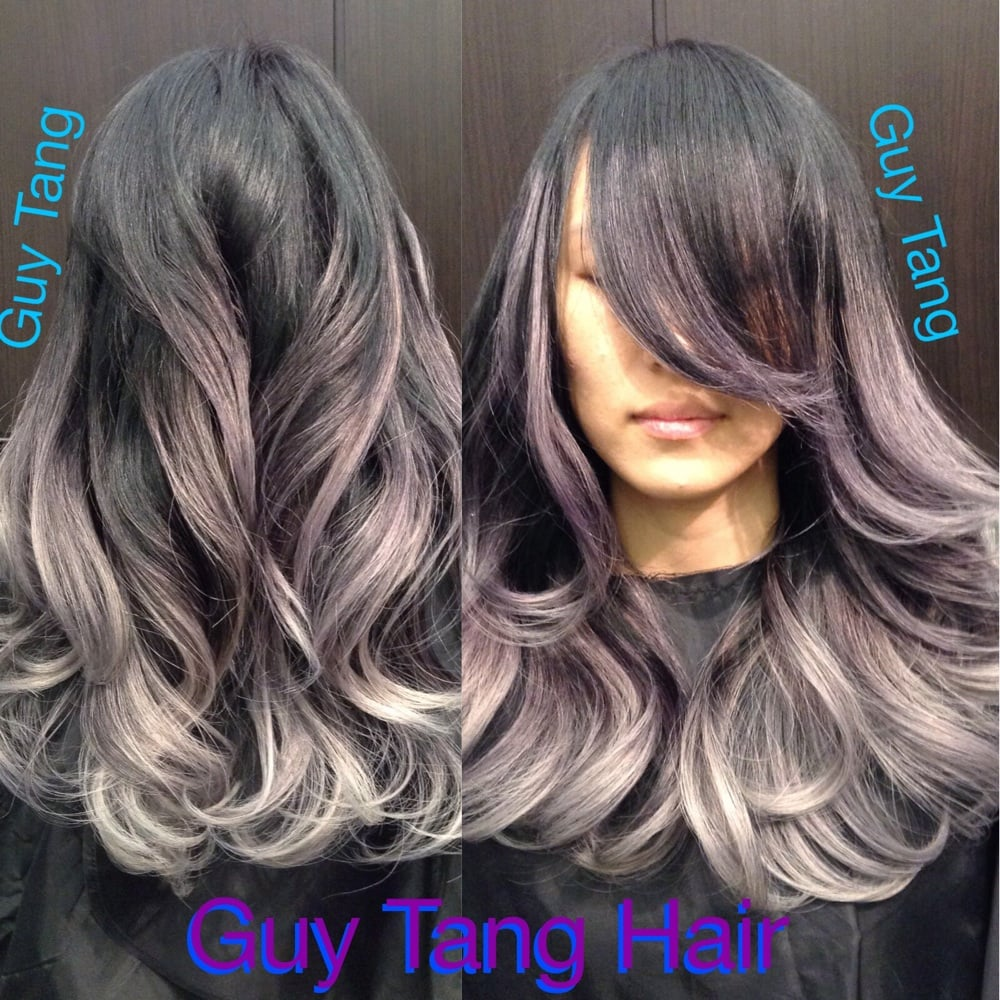 Silver metallic ombré by guy tang - Yelp