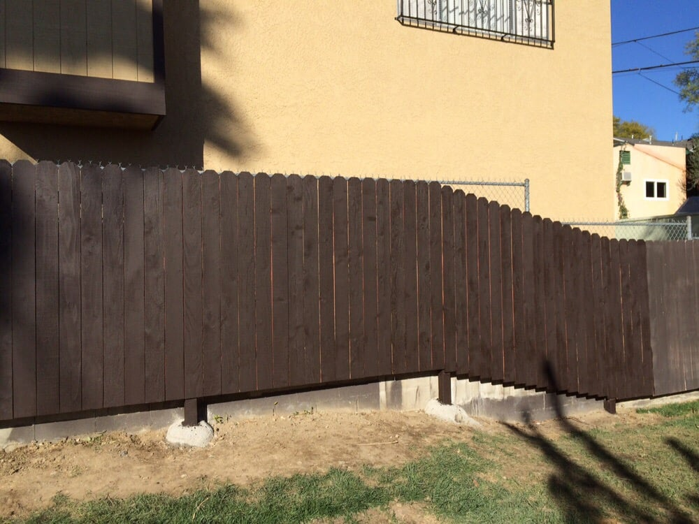 Replaced 40 Of Redwood Fence That Blew Over With High