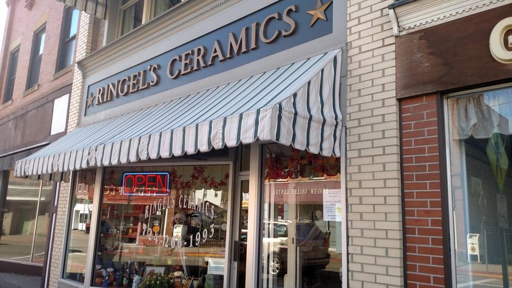 Ringel's Ceramics: 549 Merchant St, Ambridge, PA