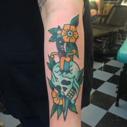 Electric Panther Tattoo logo