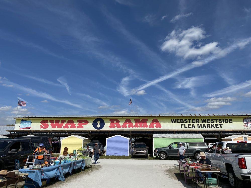 Webster Westside Flea Market: 516 NW 3rd St, Webster, FL