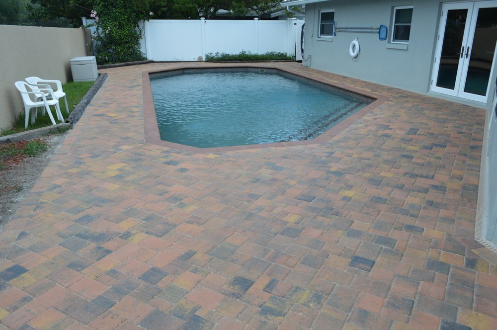 Sky pavers: 1034 Chinaberry Rd, Clearwater, FL