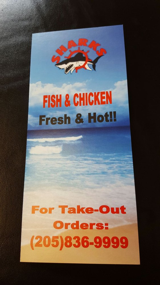 Sharks fish chicken 11 foto hamburger 7700 1st ave for Sharks fish chicken birmingham al