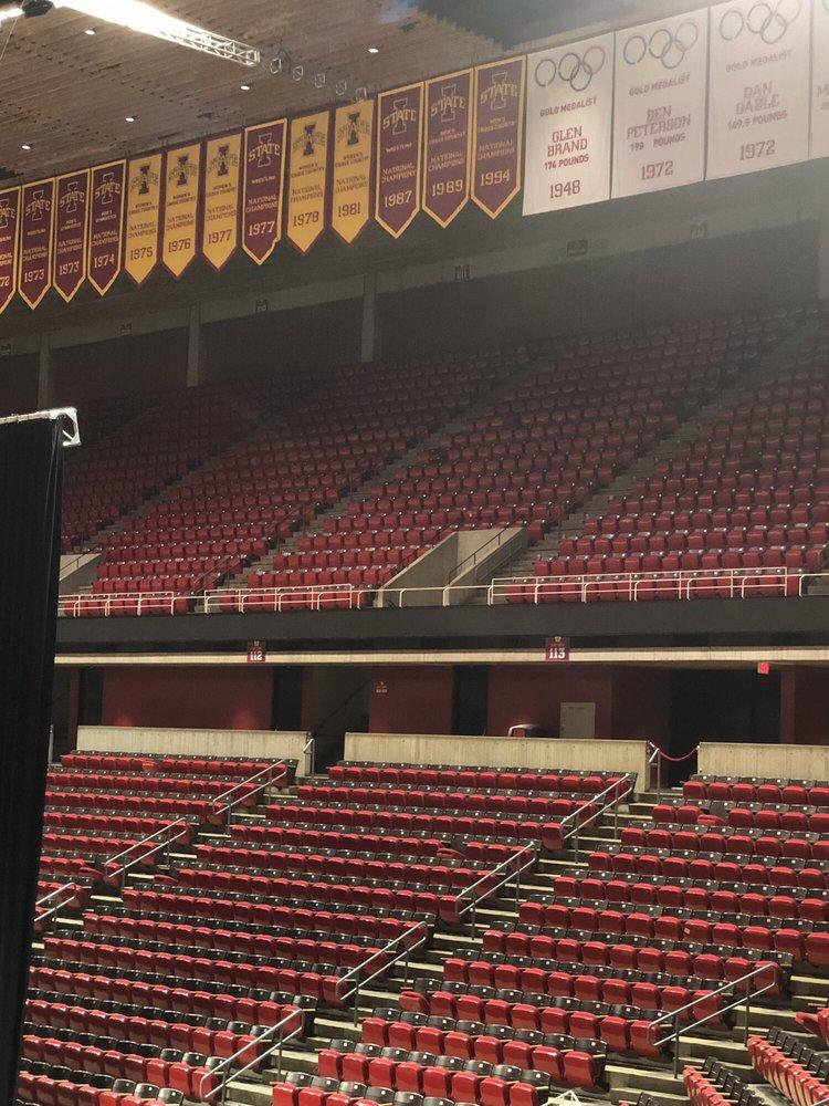 Hilton Coliseum: Lowa State Ctr, Ames, IA