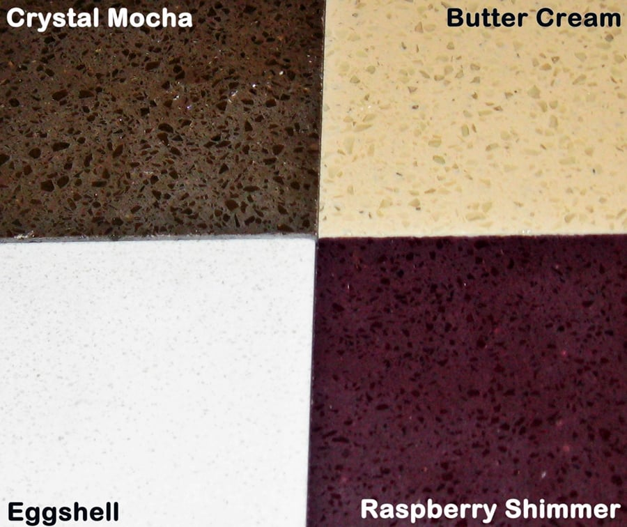 NEW Quartz Colors! Available In Pre-fab Counter Sizes.
