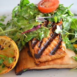Photo Of Bluewater Grill Temecula Ca United States Fresh Salmon Under A
