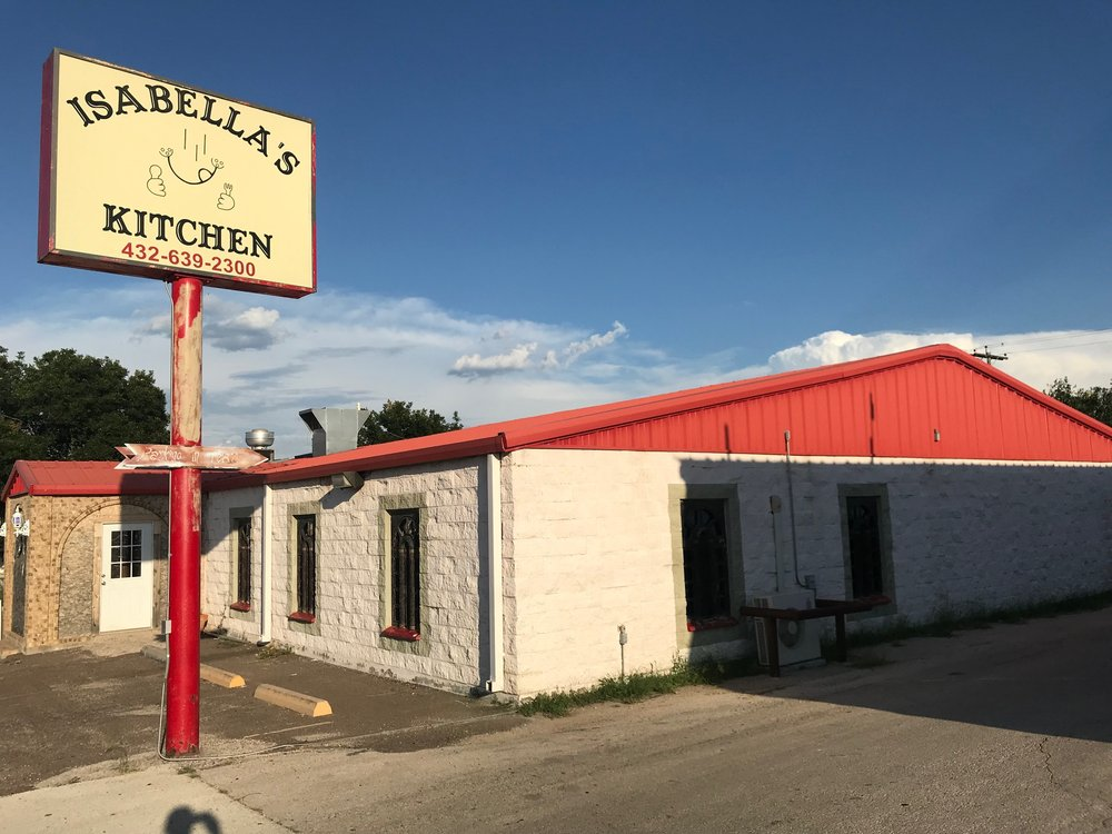 Isabella's Kitchen: 204 E 6th St, Iraan, TX