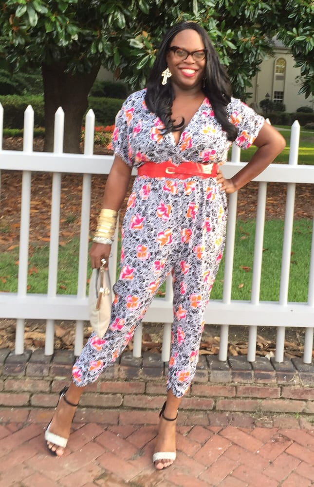 acc4de5a0f9a Jumpsuit and belt by Ashley Stewart - Yelp