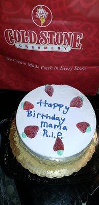 Cold Stone Creamery 1586 Gateway Blvd Fairfield CA Ice Cream