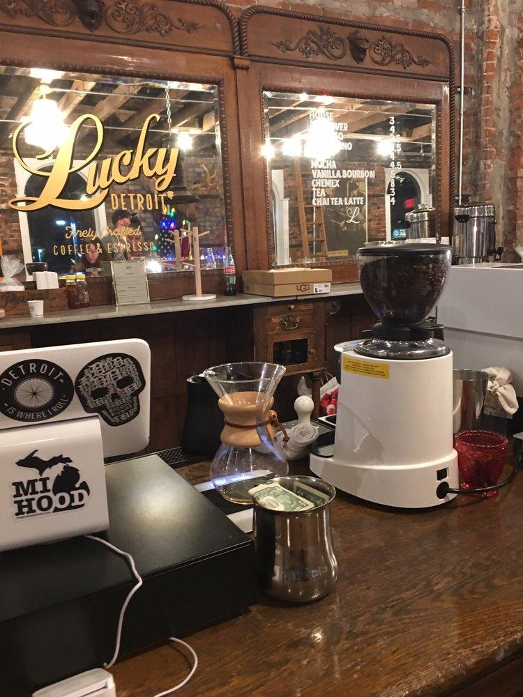 Lucky Detroit Coffee & Espresso: 2000 Michigan Ave, Detroit, MI