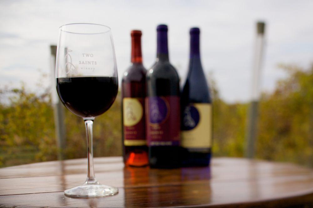 Two Saints Winery: 15010 20th Ave, Saint Charles, IA