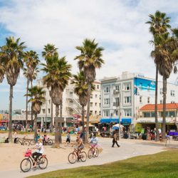Photo Of Venice Beach Boardwalk Ca United States