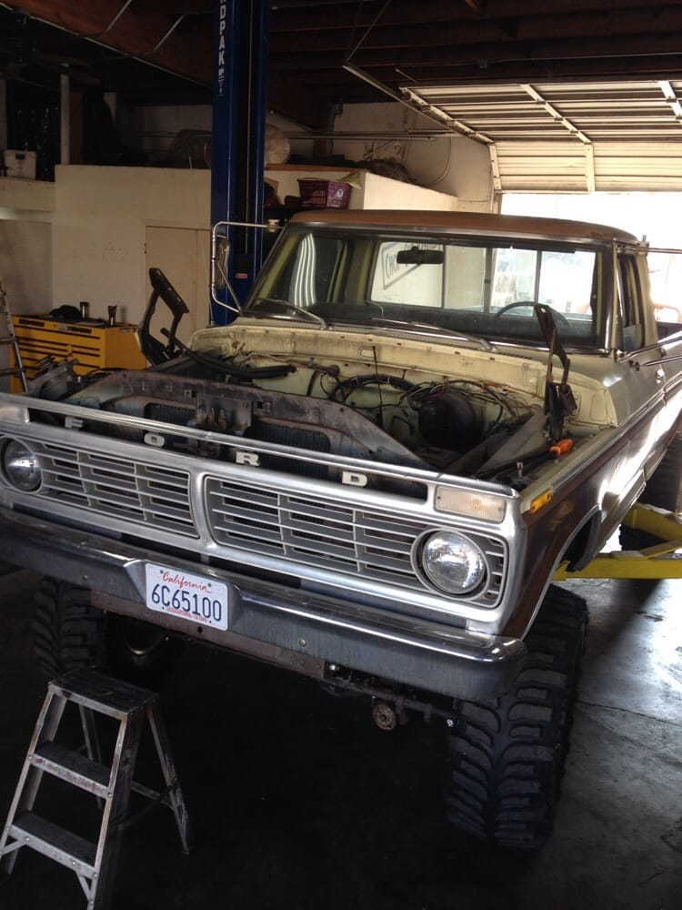 my 73 ford f250 high boy they are currently working on doing a Ford Highboy Truck 34 photos for hot rods of norco
