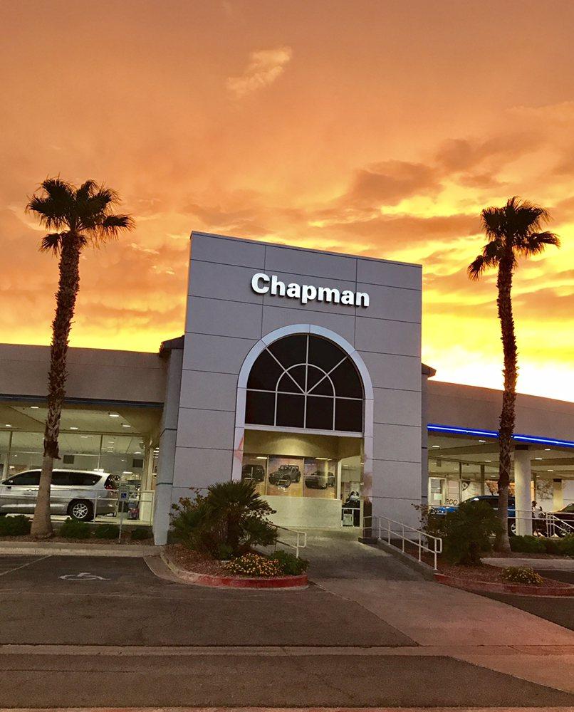 Sunset @ Chapman Chrysler Jeep.....