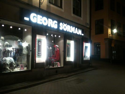 AB Georg Sörman - Men s Clothing - Västerlånggatan 57 e05d790f18461