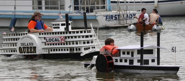 Cardboard Boat Regatta: New Richmond, OH
