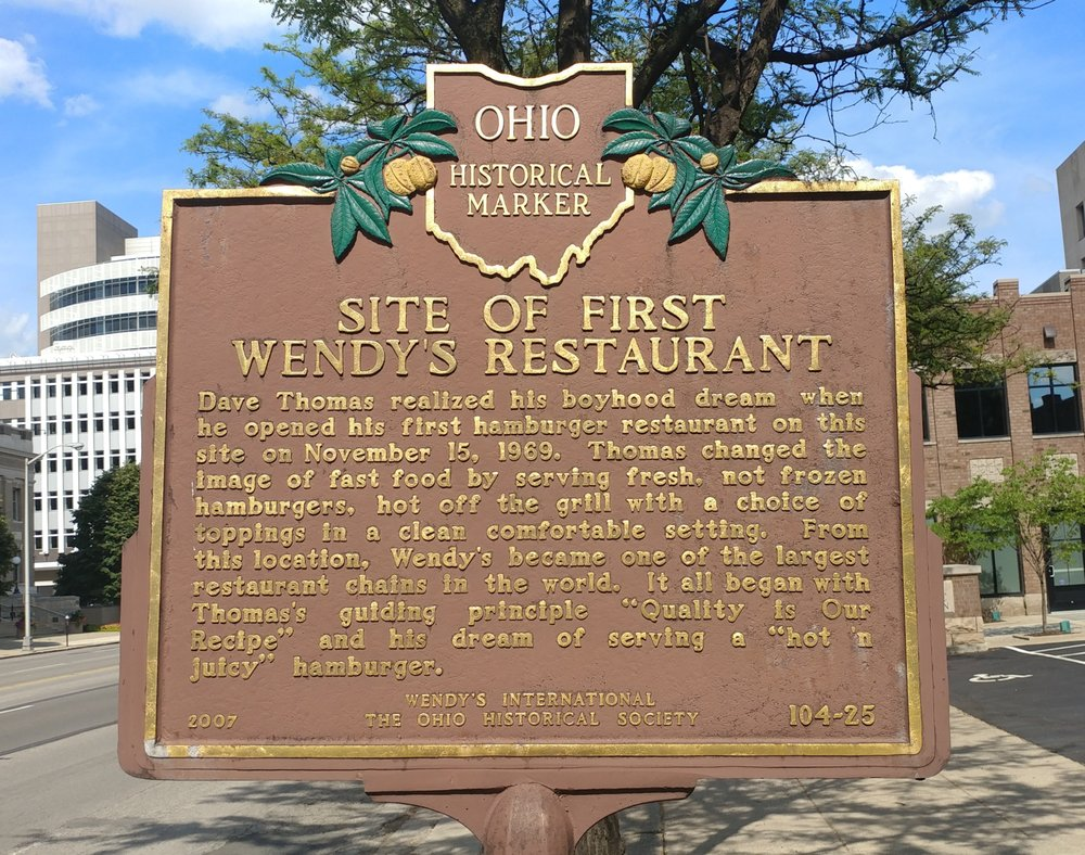 Site of First Wendy's Restaurant Historical Marker