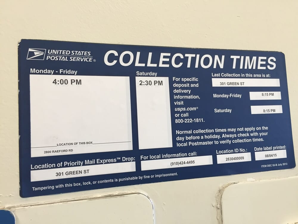 Us post office post offices 2800 raeford rd - United states post office phone number ...