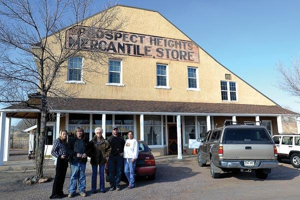 The Prospect Heights Mercantile Store: 1345 S 4th St, Cañon City, CO
