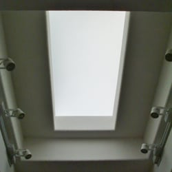 Photo of Skylight To Floor - Glendale AZ United States. Stepped open well & Skylight To Floor - CLOSED - Door Sales/Installation - Glendale AZ ...