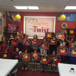 Painting with a Twist 18 s & 13 Reviews Art Classes 400