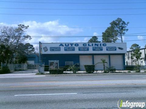 Auto Clinic Engine & Body Work: 1130 Mayport Rd, Atlantic Beach, FL