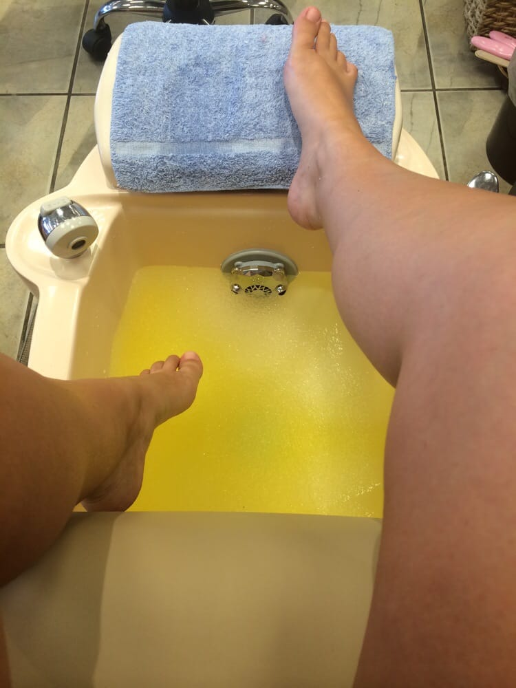 Lemon Jelly Bath Soak... Most wonderful start to a pedicure I have ...