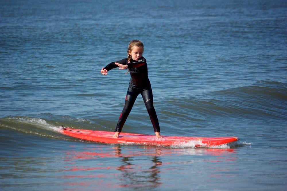 Jason Reagan Surf School: Queen St Beach, Cape May, NJ