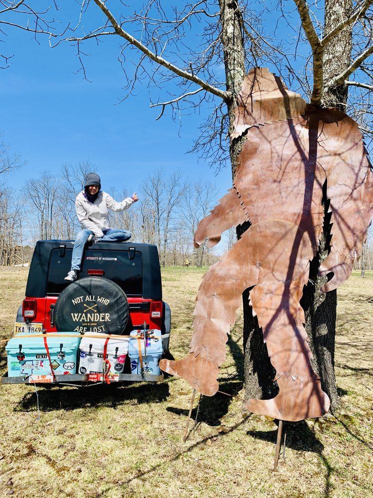 Bigfoot Adventure and Baggenstoss Farm: 518 Brawley Rd, Tracy City, TN