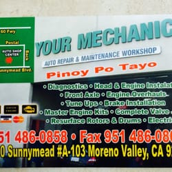Your Mechanic - 12 Reviews - Auto Repair - 24300 Sunnymead