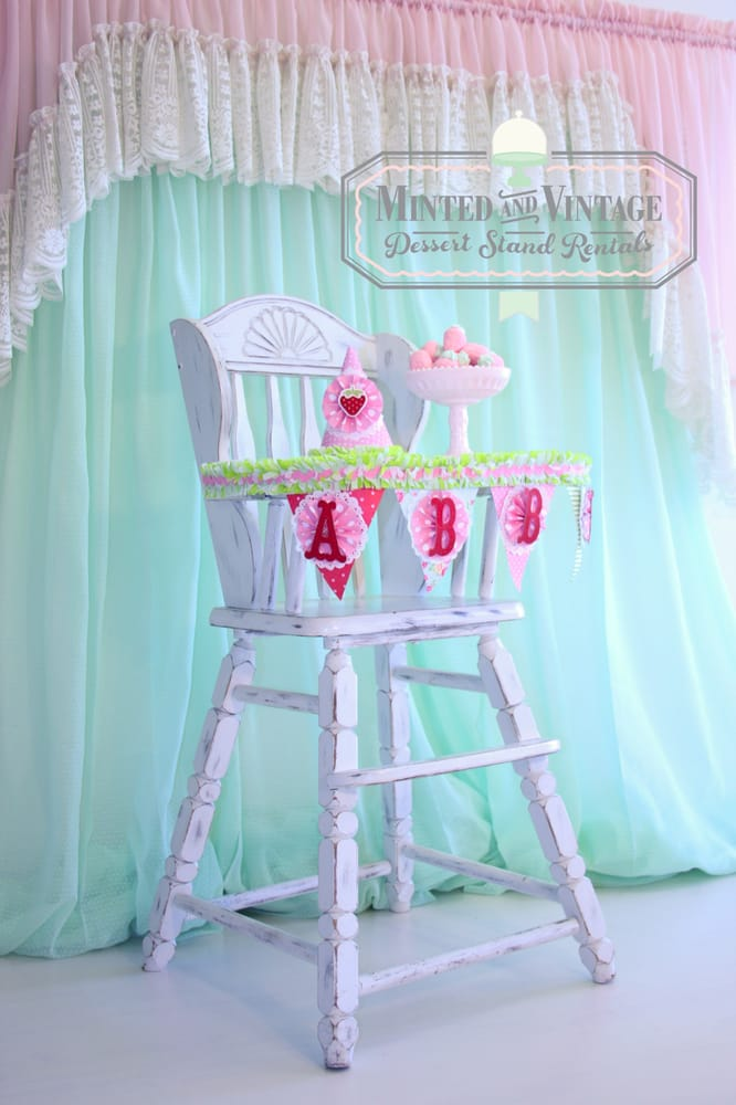 Photo of Minted and Vintage - Santa Fe Springs, CA, United States. Vintage - Vintage Baby High Chair Rental - Yelp