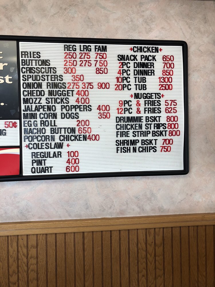 Hiway Drive In: 435 2nd St S, Carrington, ND