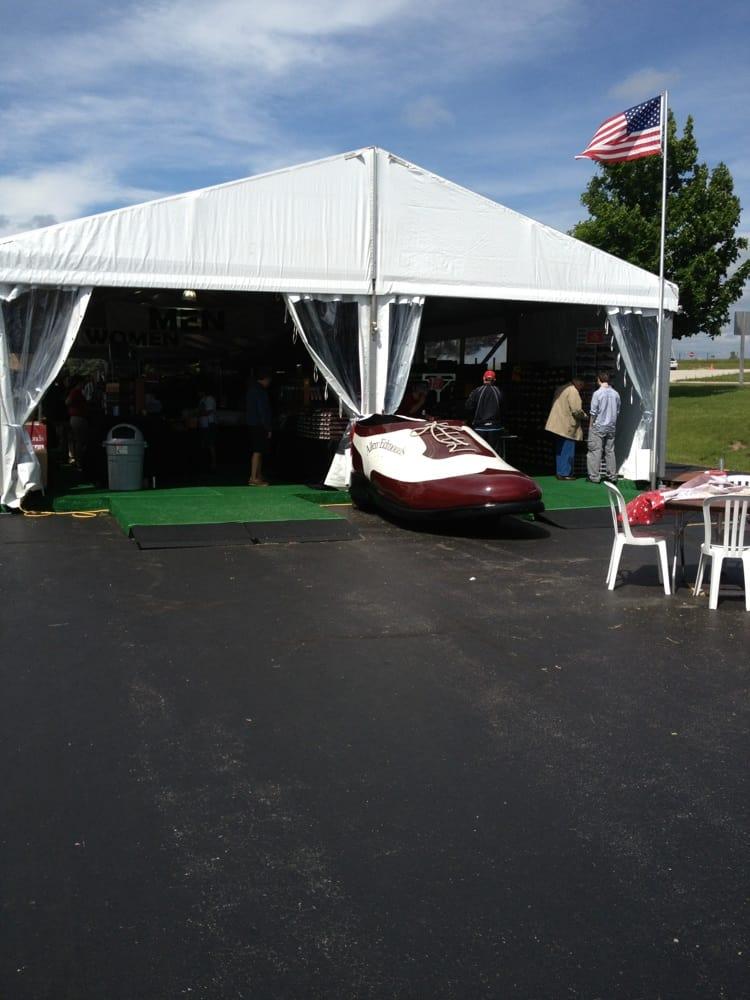 Allen Edmonds Shoe Bank Tent Sale