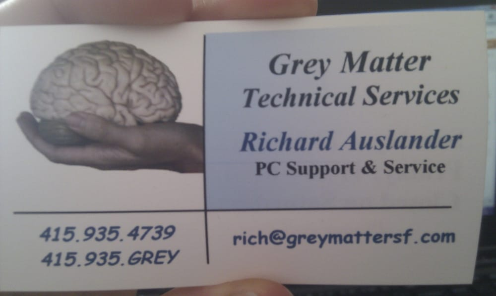 Grey Matter Technical Services: 1466 18th Ave, San Francisco, CA