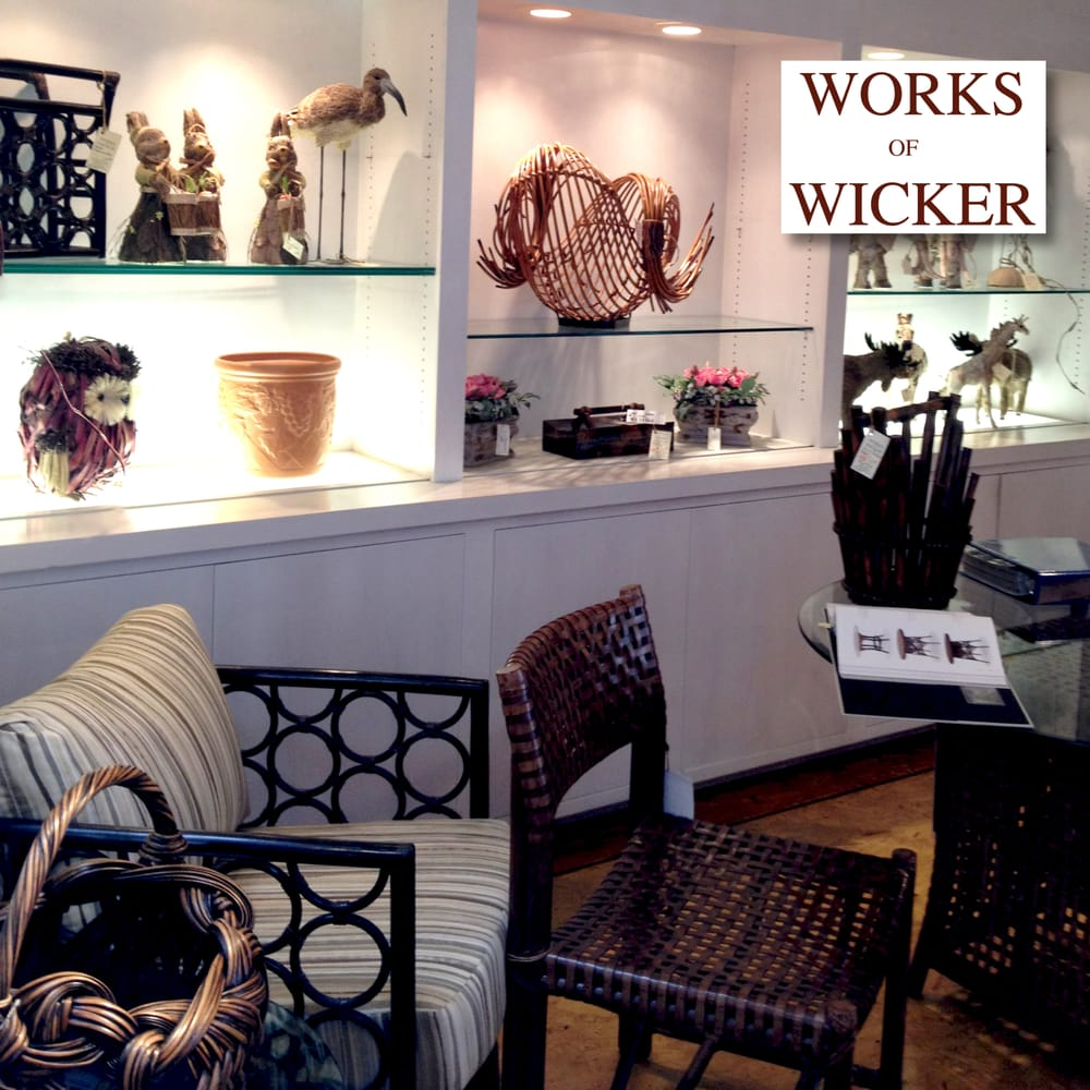 Works Of Wicker   Furniture Stores   2615 S El Camino Real, San Mateo, CA    Phone Number   Yelp