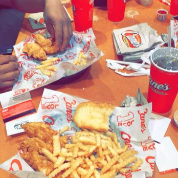 Raising Canes Chicken Fingers Fast Food 163 West Rd Hidden