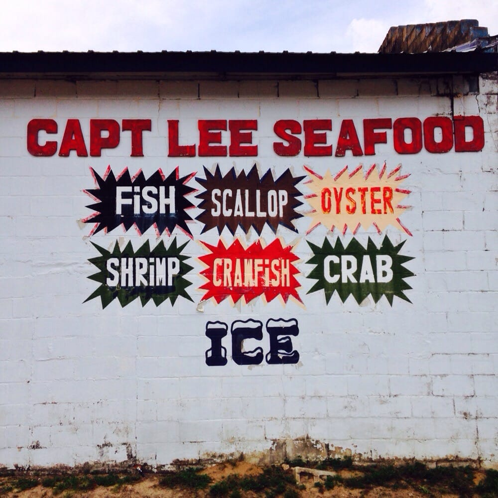 Food from Captain Lee's Seafood