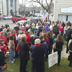 photo of dickens christmas festival skaneateles ny united states a group gathers - Skaneateles Christmas