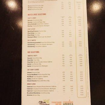 photo of olive garden italian restaurant gainesville fl united states wine menu - Olive Garden Wine List