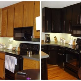 Photo Of Bull Restoration   Raleigh, NC, United States. Plain Oak Cabinets  Modernized