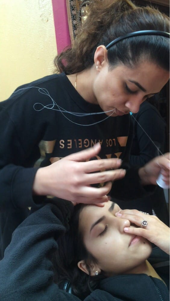 you can already see the perfection in my eyebrows yelp ForAaina Beauty Salon Parlin