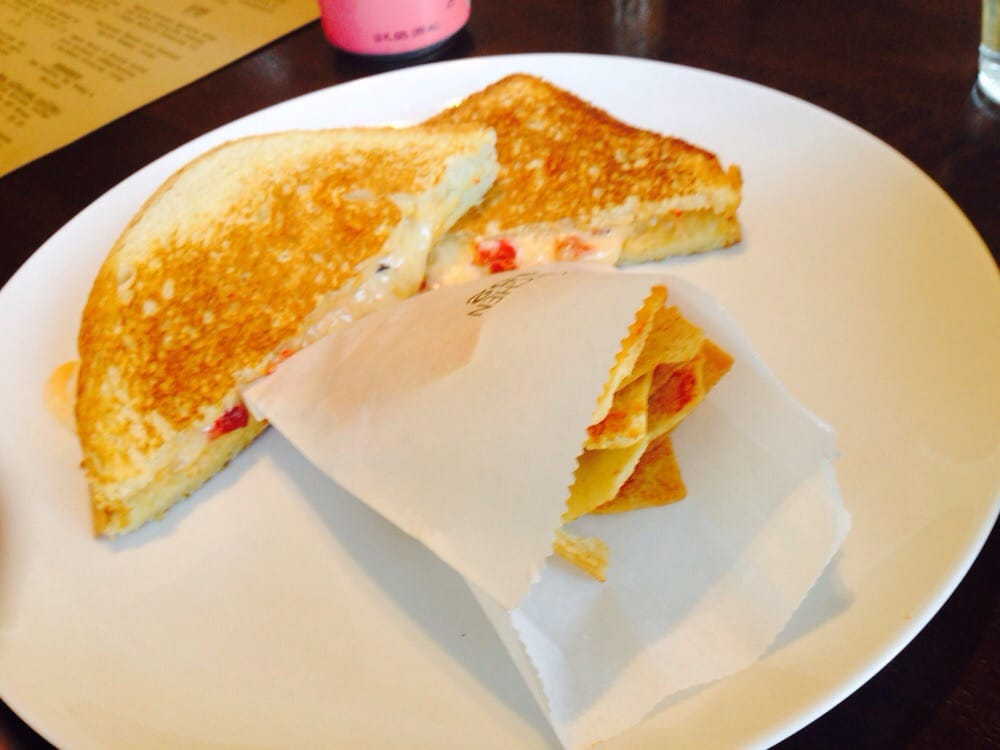 Pimiento grilled cheese yelp for Kitchen 452 cincinnati