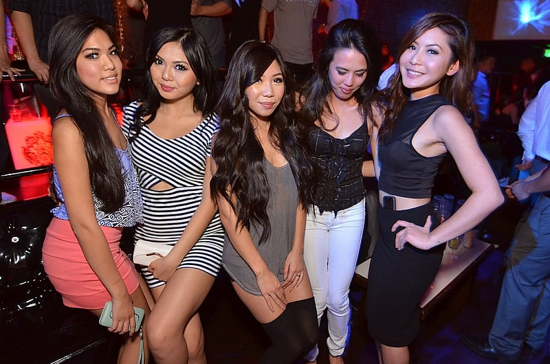 Not Asian clubs in los angeles thanks