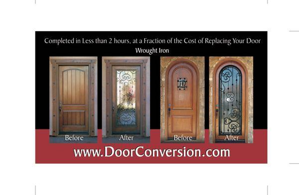 Exceptional Photo Of Door Conversions   Rocklin, CA, United States. Convert Your  EXISTING Door